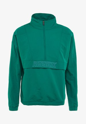 MEET YOU THERE 1/2 ZIP JACKET - Sportovní bunda - green