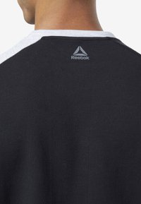 Reebok - ONE SERIES TRAINING COLORBLOCK SWEATSHIRT - Sweatshirt - black - 3