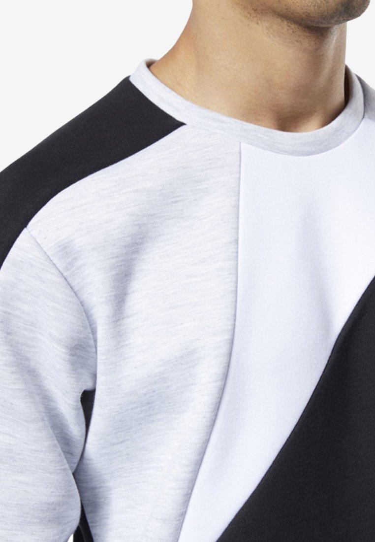One Series Reebok SweatshirtBlack Training Colorblock PXiTwOkZu