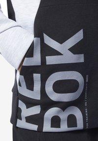 Reebok - ONE SERIES TRAINING COLORBLOCK SWEATSHIRT - Sweatshirt - black - 4