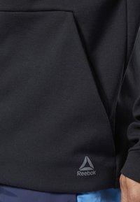 Reebok - ONE SERIES TRAINING COLORBLOCK HOODIE - Zip-up hoodie - black - 2
