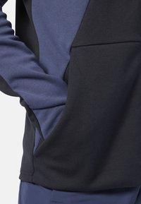 Reebok - ONE SERIES TRAINING COLORBLOCK HOODIE - Zip-up hoodie - black - 4