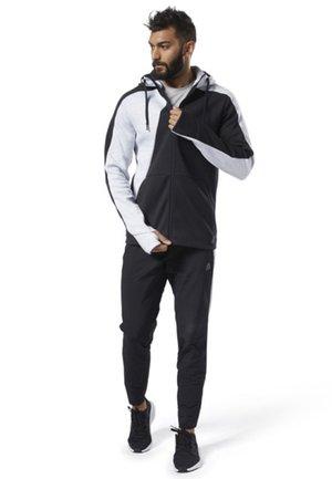 ONE SERIES TRAINING COLORBLOCK HOODIE - Zip-up hoodie - black