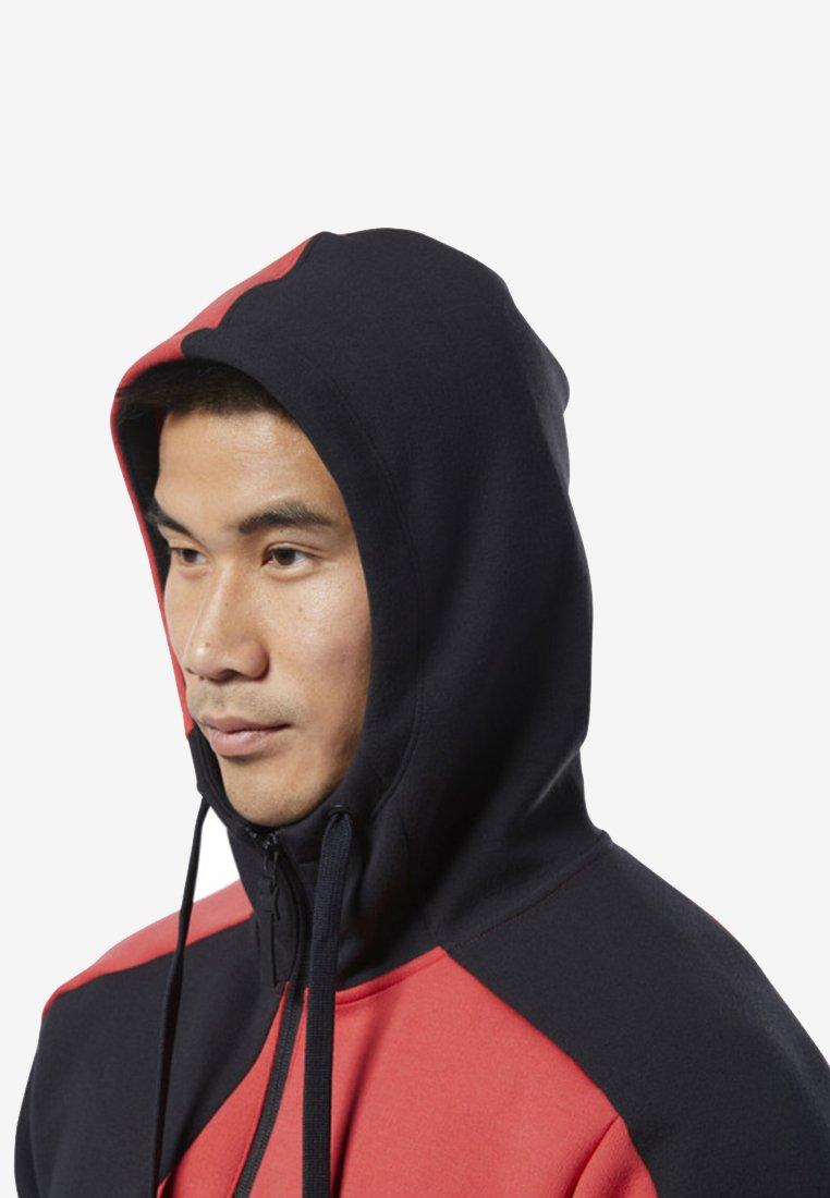 Reebok Series Red Colorblock Training Rebel HoodieSweatshirt One zLqGMjSpUV