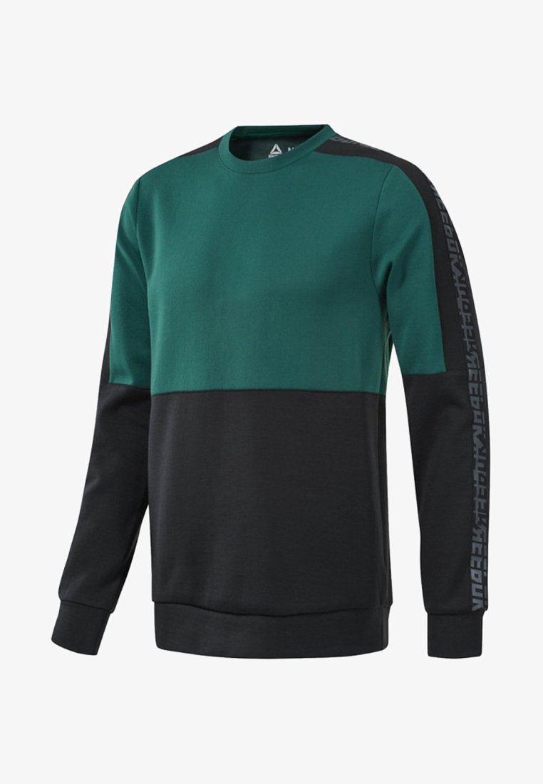 Reebok - MEET YOU THERE CREW SWEATSHIRT - Sweatshirt - clover green