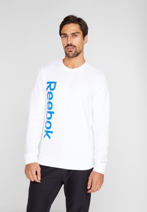 ELEMENTS SPORT LONG SLEEVE PULLOVER - Sweatshirt - white
