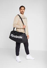 Reebok - HOODIE - Hoodie - beige - 1