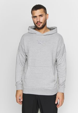 HOODIE - Bluza z kapturem - medium grey heather