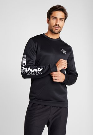MYT SPORT LONG SLEEVE PULLOVER - Mikina - black