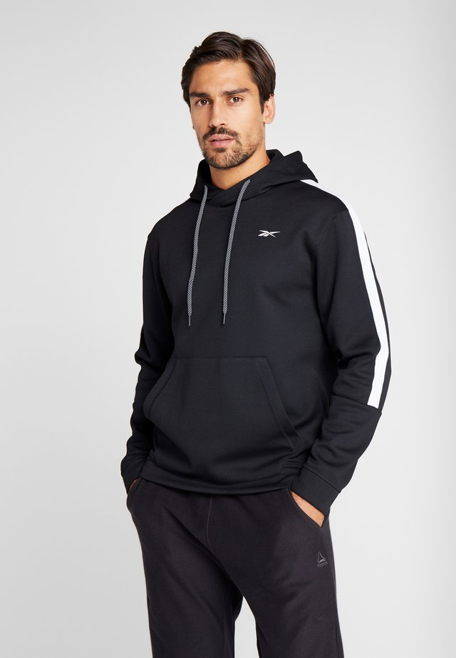 WORKOUT READY SPORT HODDIE SWEAT - Mikina s kapucí - black