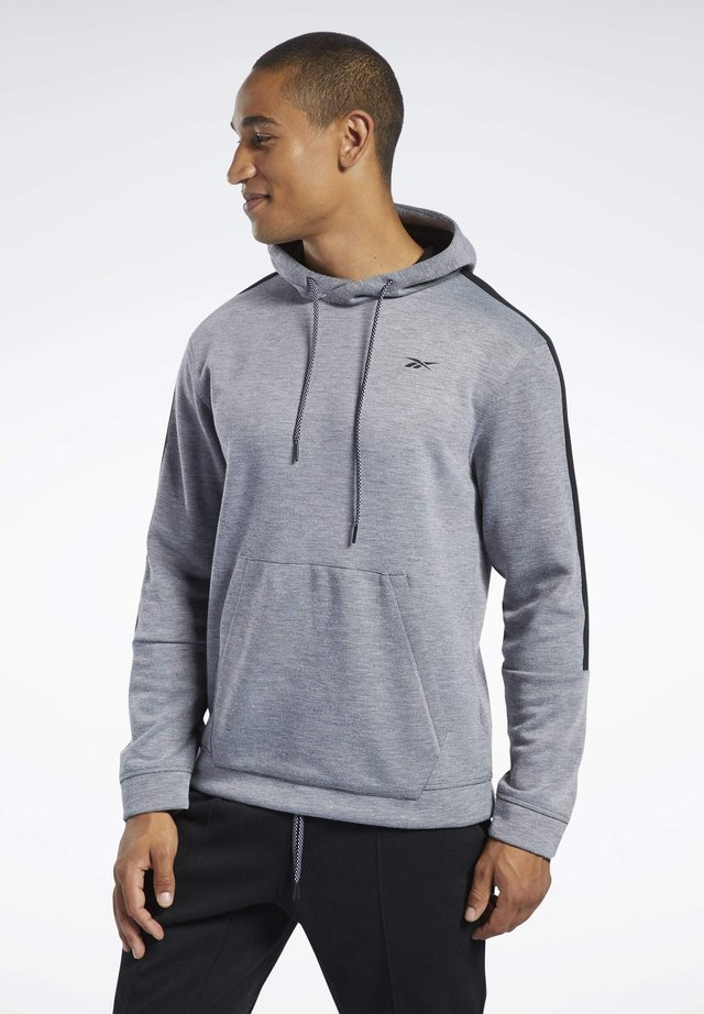 WORKOUT READY HOODIE - Jersey con capucha - grey