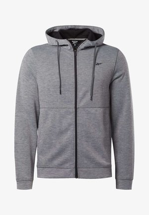 WORKOUT READY HOODIE - Bluza rozpinana - grey