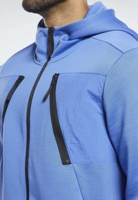 Reebok - SPEEDWICK HOODIE - Training jacket - blue - 3