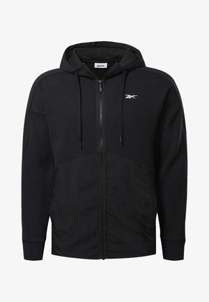 TRAINING SUPPLY HOODIE - Zip-up hoodie - black
