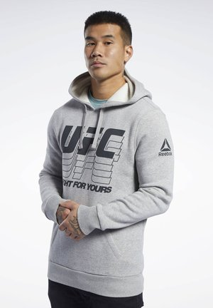 UFC FG HOODIE - Hættetrøjer - grey