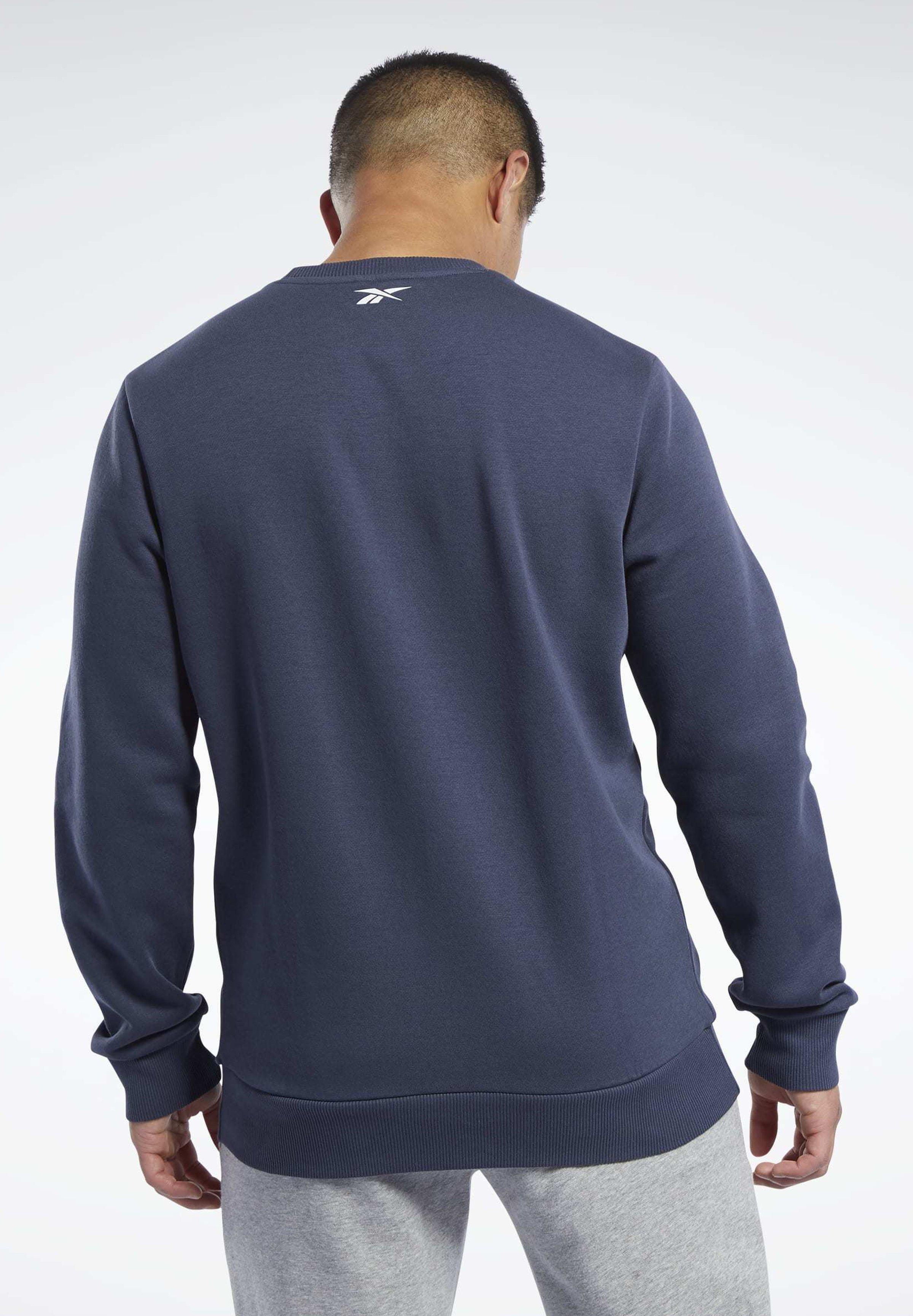Reebok Training Essentials Linear Logo Sweatshirt - Blue