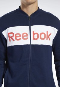 Reebok - TRAINING ESSENTIALS TRACK SUIT - Träningsset - blue - 3