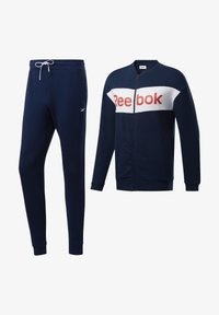 Reebok - TRAINING ESSENTIALS TRACK SUIT - Träningsset - blue - 6