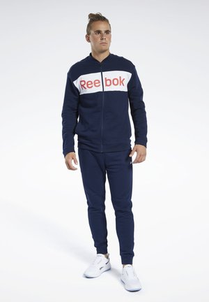 TRAINING ESSENTIALS TRACK SUIT - Träningsset - blue