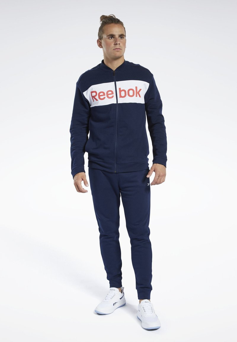 Reebok - TRAINING ESSENTIALS TRACK SUIT - Träningsset - blue