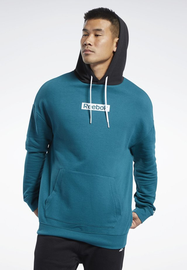 TRAINING ESSENTIALS  - Hættetrøjer - heritage teal