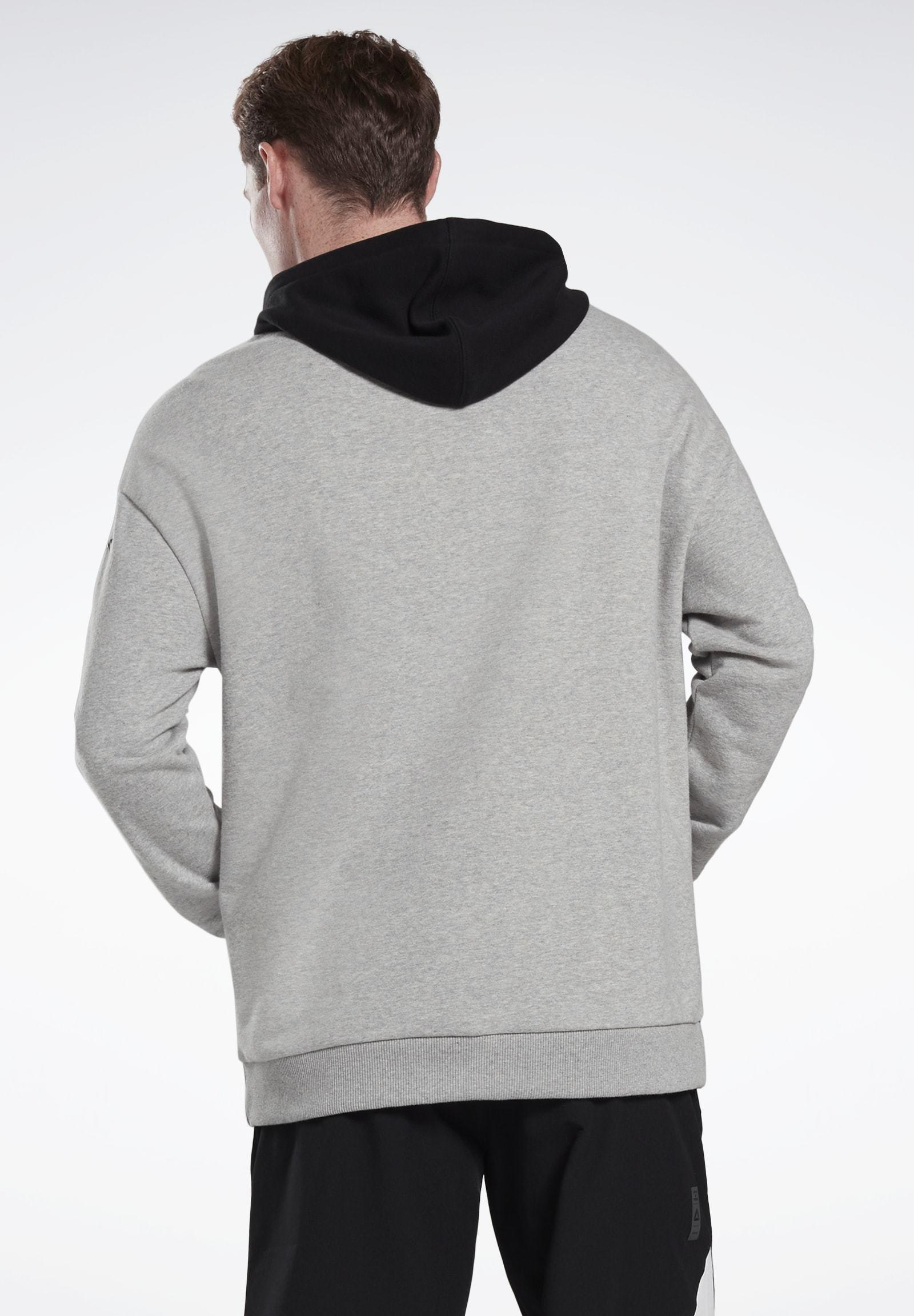 Reebok LES MILLS® HOODIE - Hoodie - grey