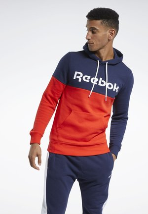 TRAINING ESSENTIALS LOGO HOODIE - Sweat à capuche - blue