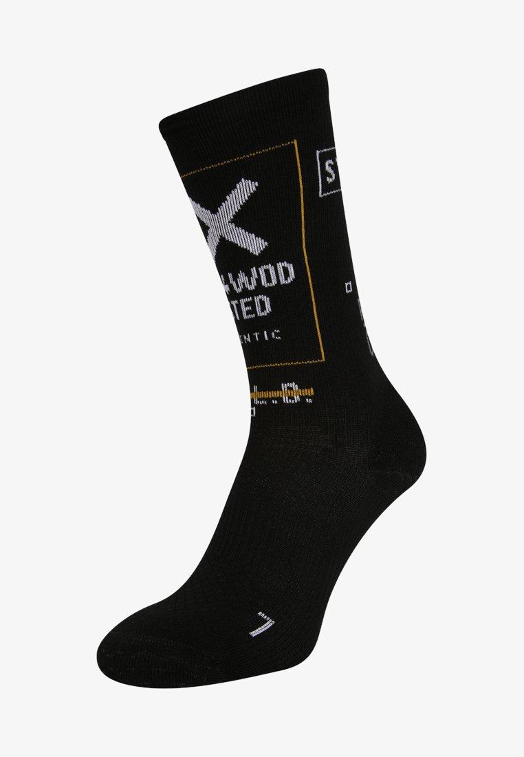 Reebok - CREW  - Sports socks - black