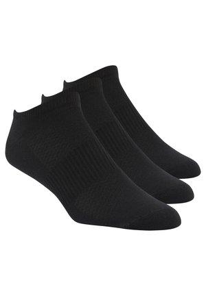 REEBOK  MENS INSIDE THIN SOCK - Trainer socks - black