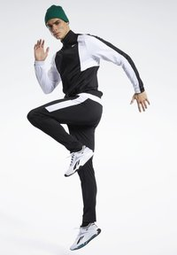 Reebok - MEET YOU THERE TRACK SUIT - Träningsset - black - 1