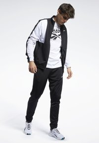Reebok - MEET YOU THERE TRACK SUIT - Träningsset - black - 0