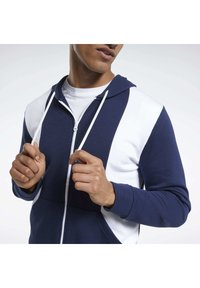 Reebok - TRAINING ESSENTIALS LINEAR LOGO TRACKSUIT - Survêtement - blue - 3