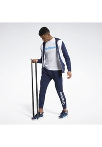 Reebok - TRAINING ESSENTIALS LINEAR LOGO TRACKSUIT - Survêtement - blue - 1