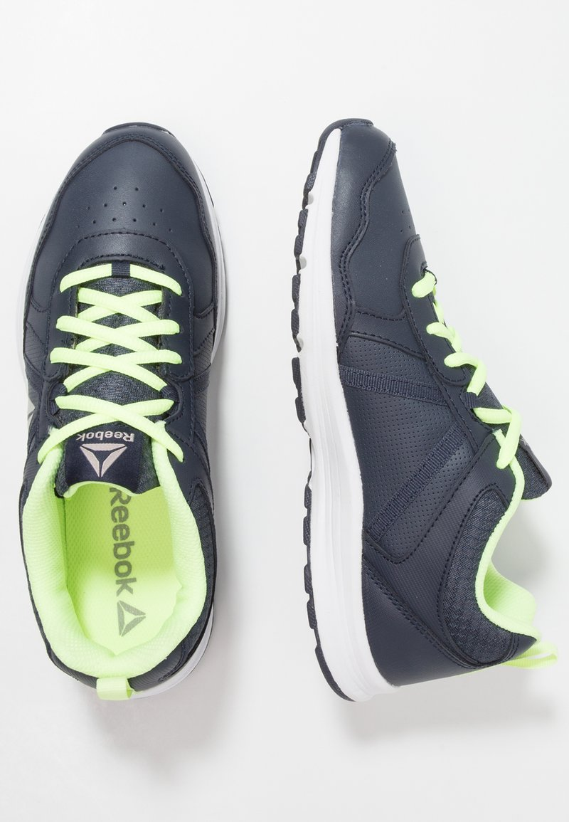 Reebok - ALMOTIO 4.0 - Neutral running shoes - navy/flash/pewter