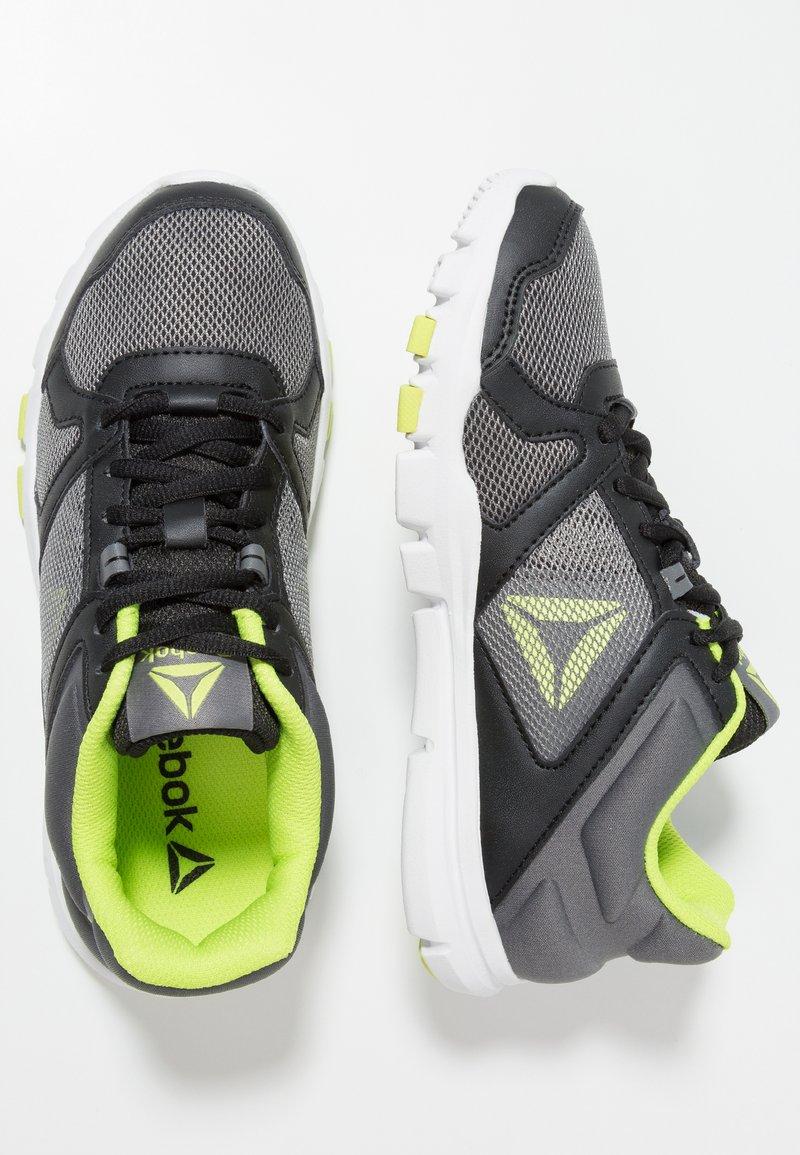Reebok - YOURFLEX TRAIN 10 - Sportschoenen - black/alloy/neon lime