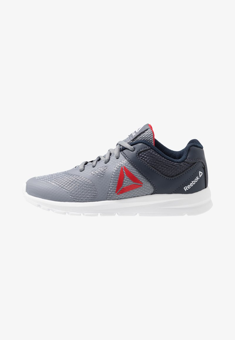 Reebok - RUSH RUNNER - Neutral running shoes - grey/navy/red/white