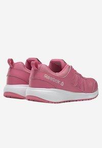 Reebok - ROAD SUPREME - Hardloopschoenen neutraal - pink/iridescent - 3