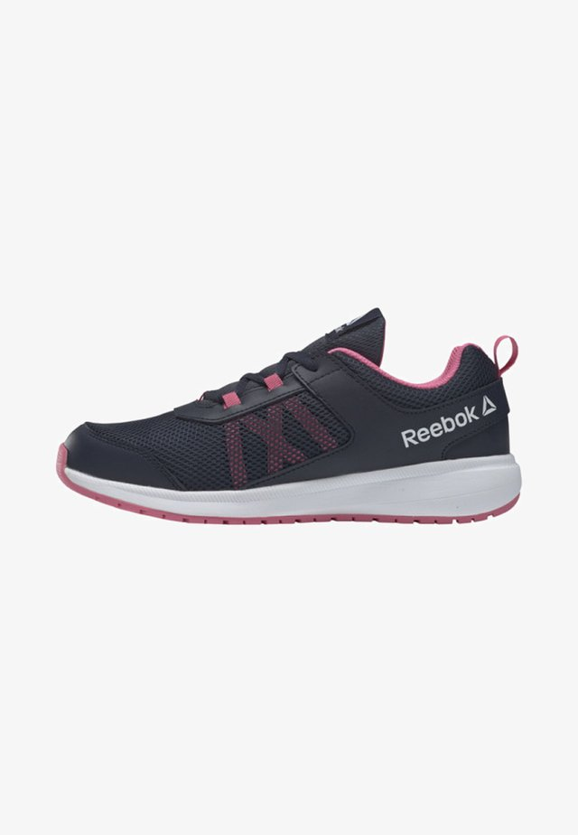 ROAD SUPREME - Zapatillas de running neutras - collegiate navy/astro pink/white