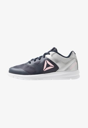RUSH RUNNER - Chaussures de running neutres - navy/silver/pink