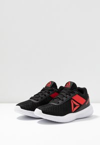 Reebok - FLEXAGON ENERGY - Sportschoenen - black/red - 3