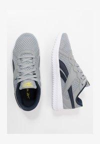 grey/yellow/collegiate navy