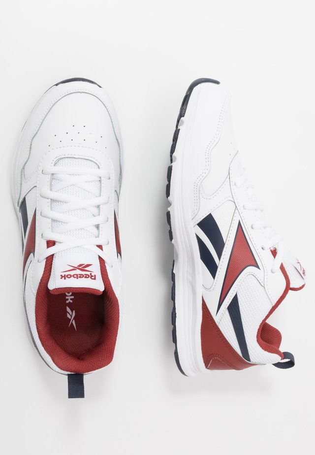 ALMOTIO 5.0 - Zapatillas de running neutras - white/red/collegiate navy