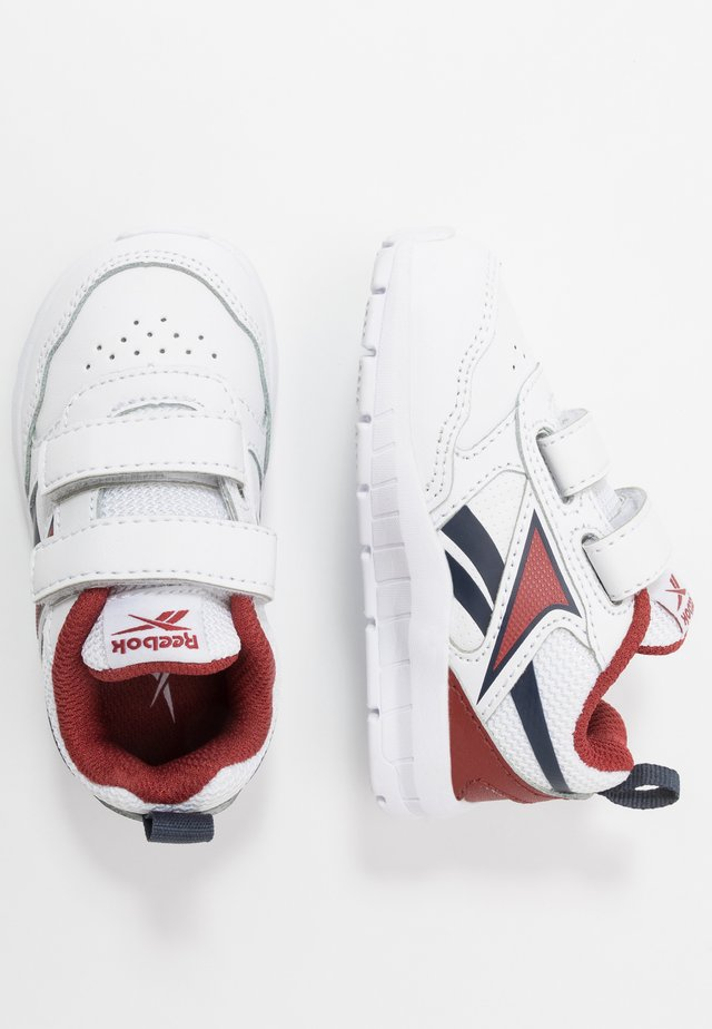 ALMOTIO 5.0 - Laufschuh Neutral - white/red/collegiate navy