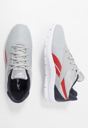 RUSH RUNNER 2.0 - Neutral running shoes - grey/collegiate navy/legend active red