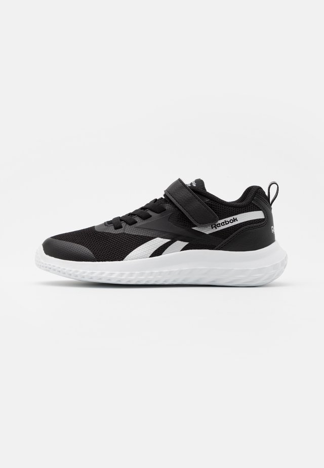 RUSH RUNNER 3.0 - Neutral running shoes - black/white/silver metallic