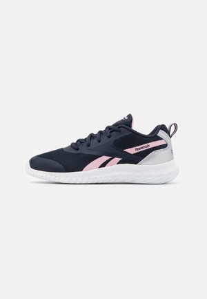 RUSH RUNNER 3.0 - Obuwie do biegania treningowe - night navy/class pink/silver metallic