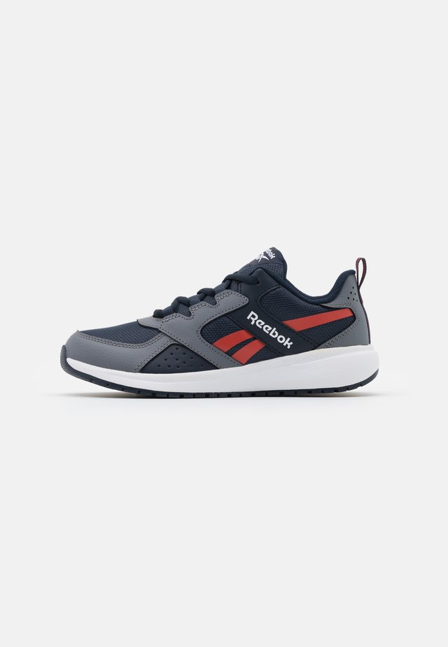 ROAD SUPREME 2.0 - Neutrale løbesko - grey/collegiate navy/red