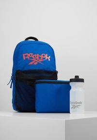 Reebok - KIDS LUNCHBOX SET - Batoh - blue - 6