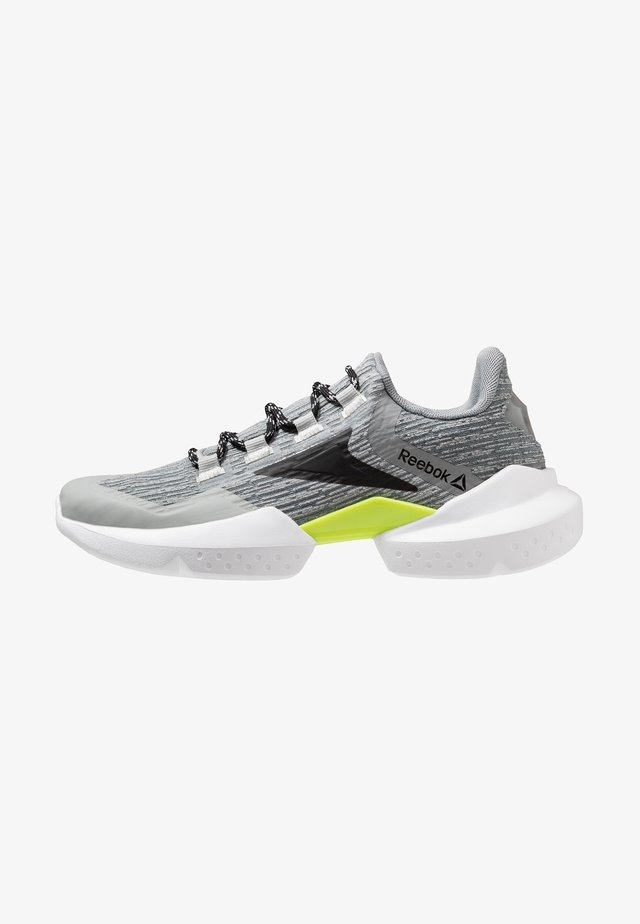 SPLIT FUEL - Zapatillas de running neutras - true grey/black/lime/white