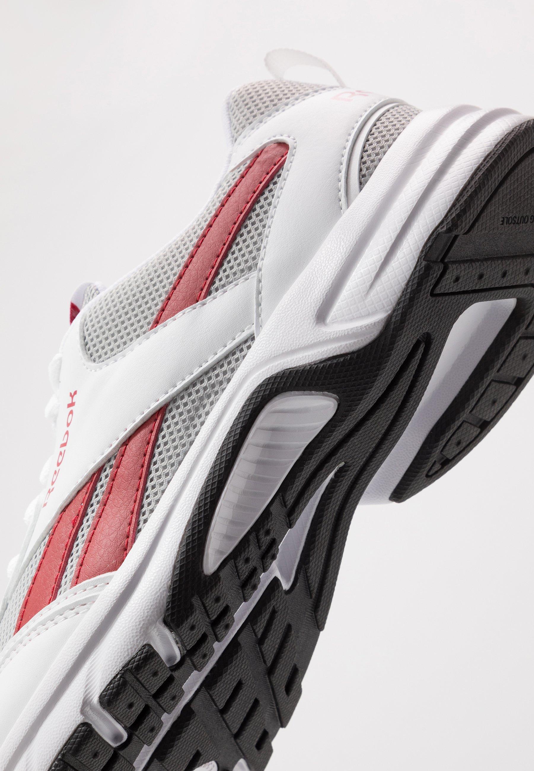 Reebok PHEEHAN - Neutral running shoes - grey/red/white